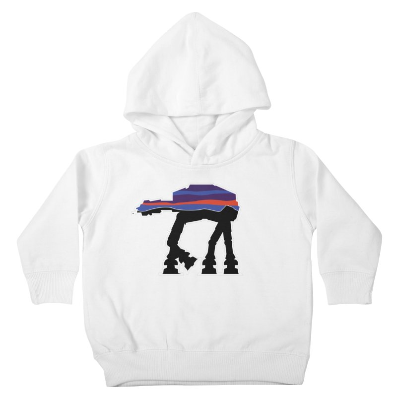 Where ya At-At? Kids Toddler Pullover Hoody by Mike Hampton's T-Shirt Shop
