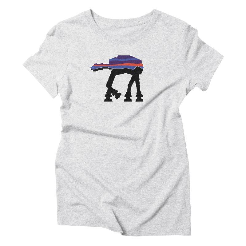 Where ya At-At? Women's Triblend T-Shirt by Mike Hampton's T-Shirt Shop