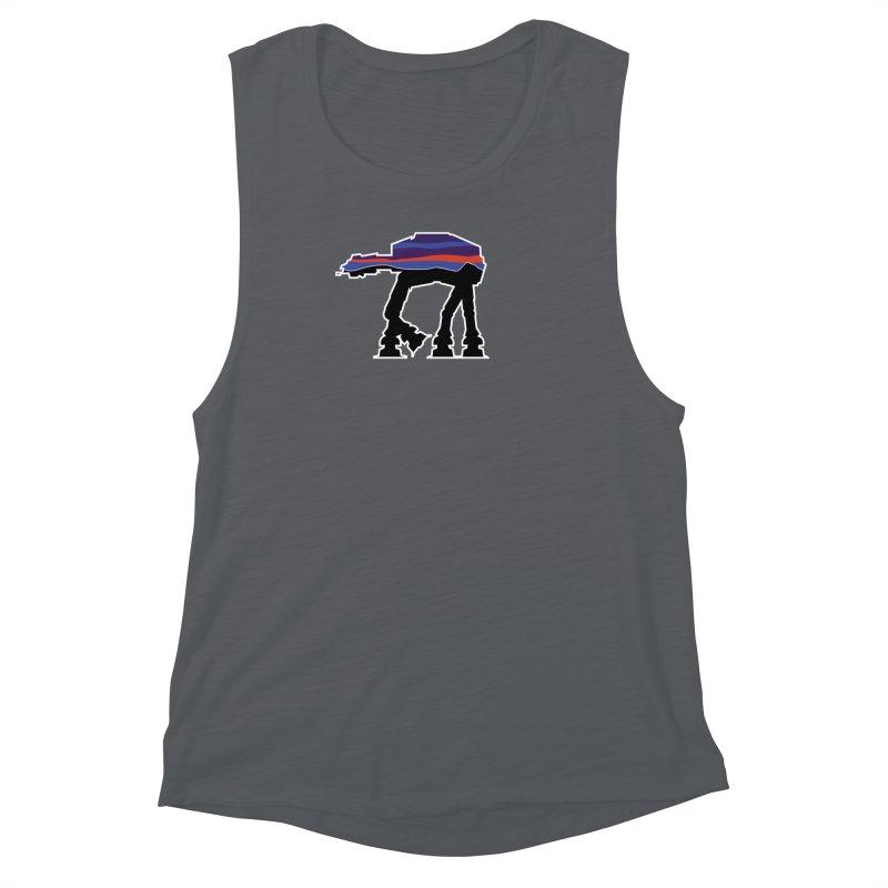 Where ya At-At? Women's Muscle Tank by Mike Hampton's T-Shirt Shop