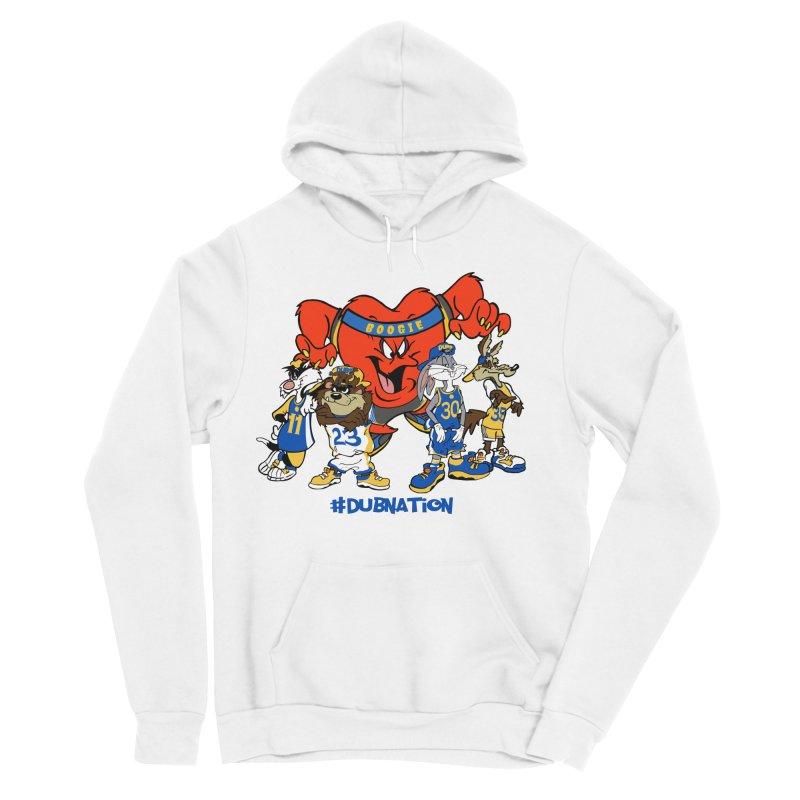 DubNation Squad Men's Sponge Fleece Pullover Hoody by Mike Hampton's T-Shirt Shop
