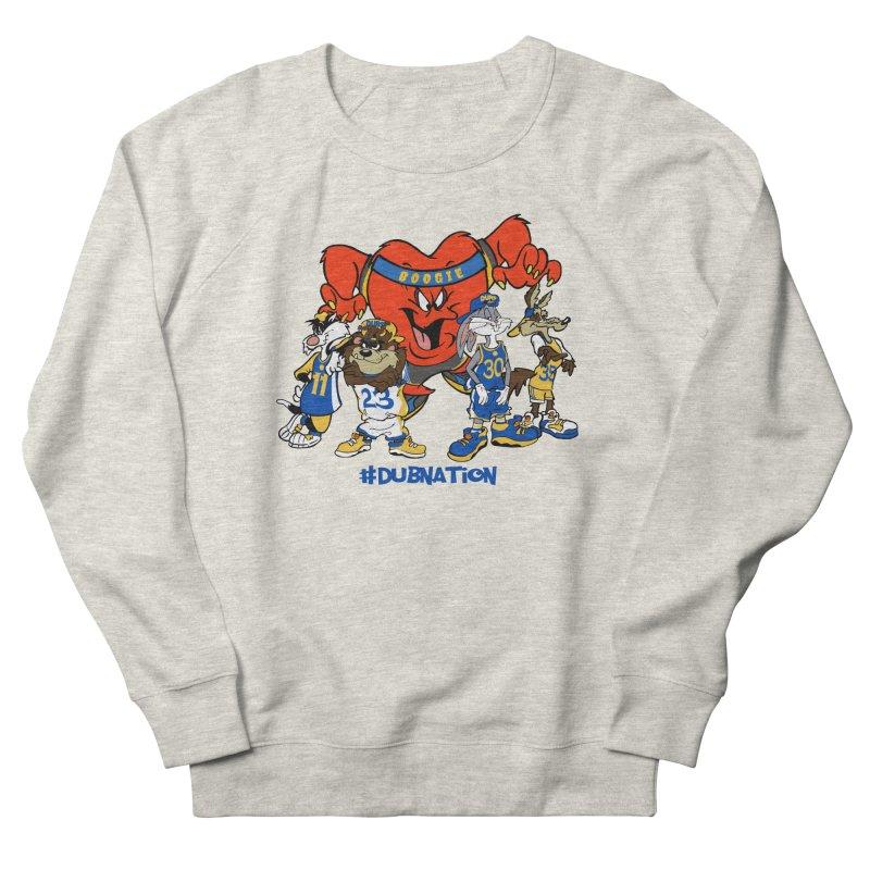 DubNation Squad Women's French Terry Sweatshirt by Mike Hampton's T-Shirt Shop