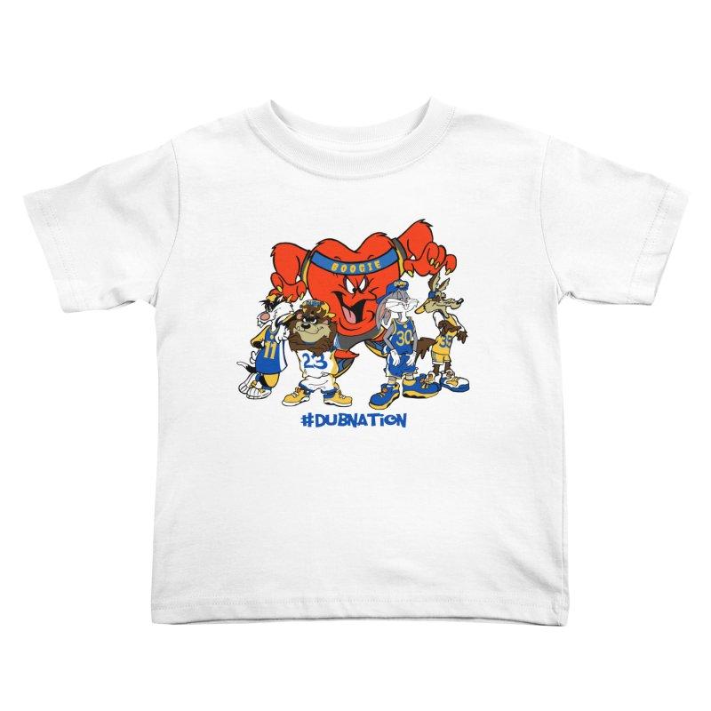 DubNation Squad Kids Toddler T-Shirt by Mike Hampton's T-Shirt Shop