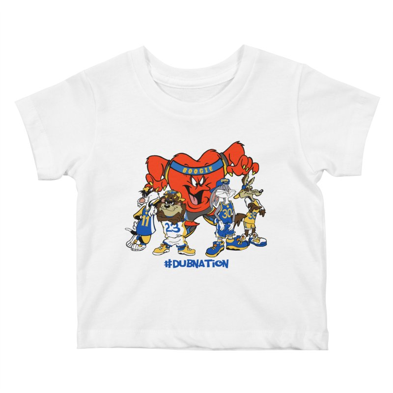 DubNation Squad Kids Baby T-Shirt by Mike Hampton's T-Shirt Shop