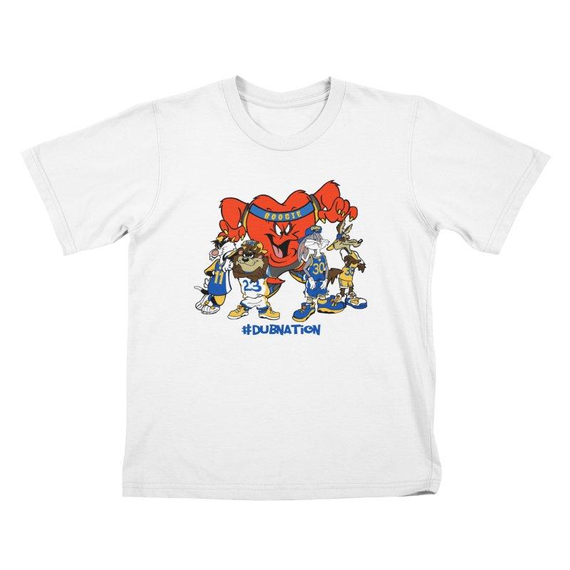 DubNation Squad Kids T-Shirt by Mike Hampton's T-Shirt Shop