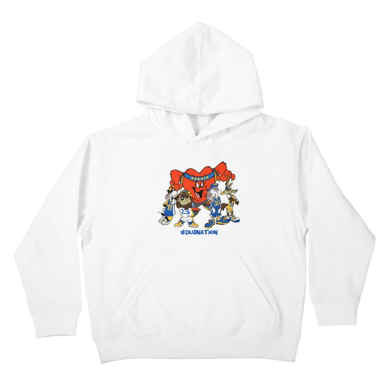 DubNation Squad Kids Pullover Hoody by Mike Hampton's T-Shirt Shop
