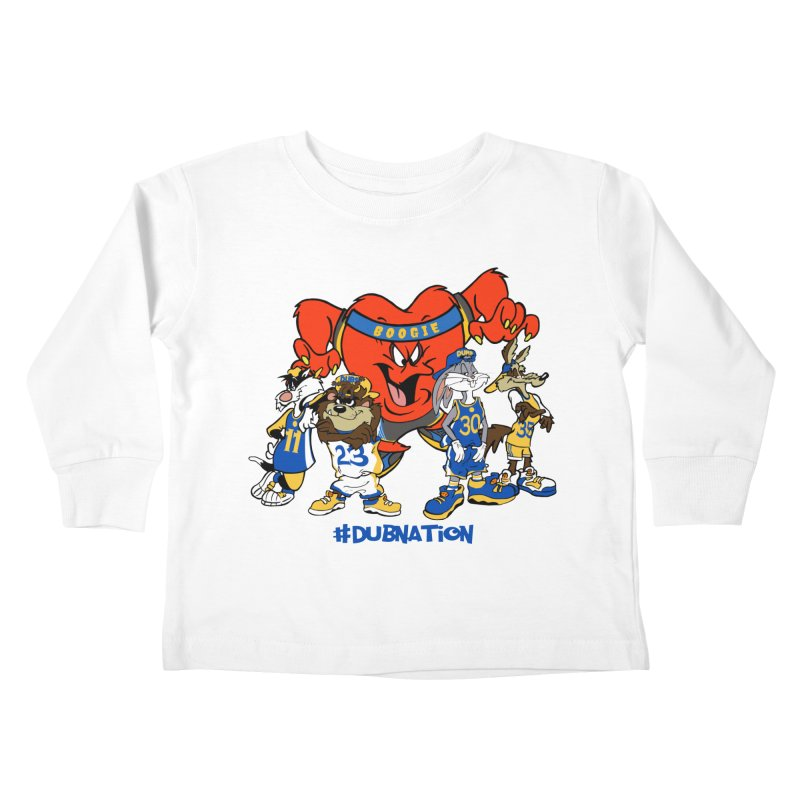 DubNation Squad Kids Toddler Longsleeve T-Shirt by Mike Hampton's T-Shirt Shop