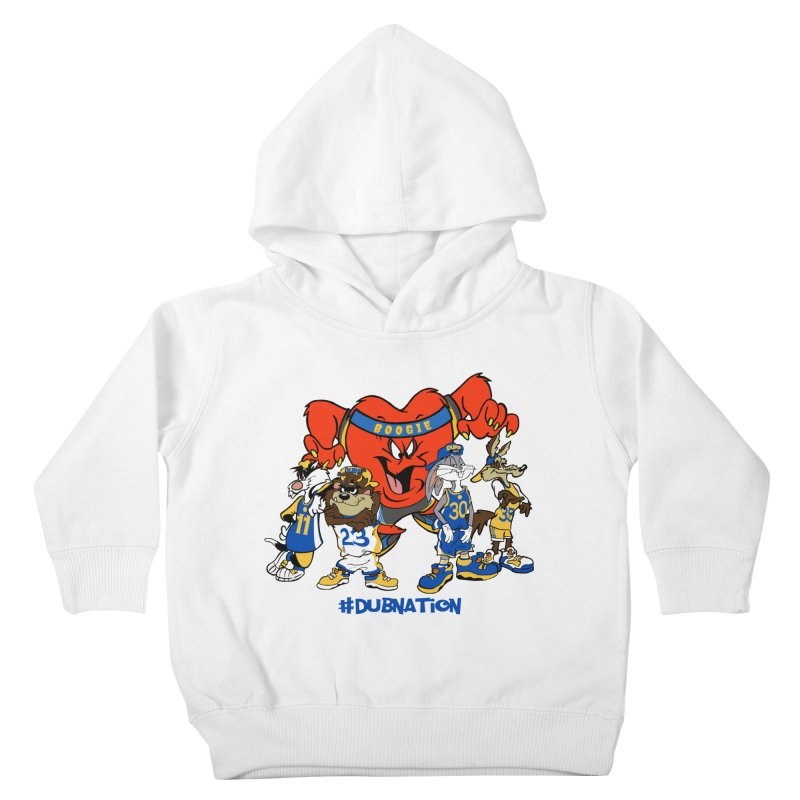 DubNation Squad Kids Toddler Pullover Hoody by Mike Hampton's T-Shirt Shop