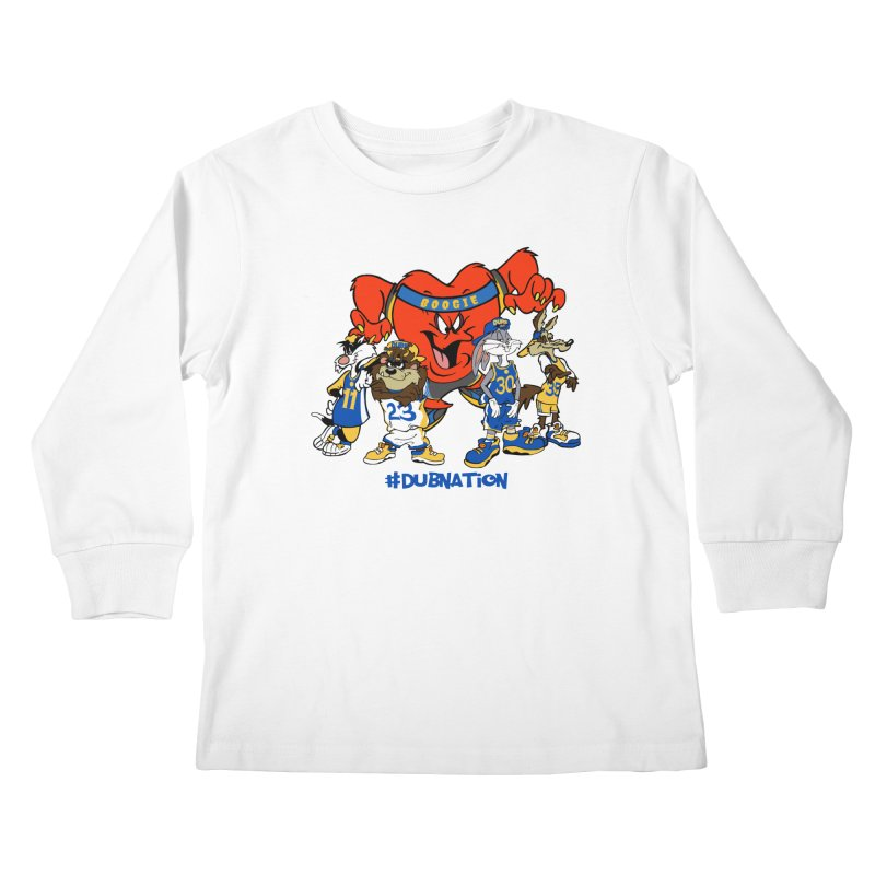 DubNation Squad Kids Longsleeve T-Shirt by Mike Hampton's T-Shirt Shop