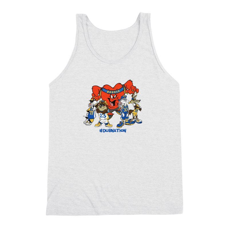 DubNation Squad Men's Triblend Tank by Mike Hampton's T-Shirt Shop