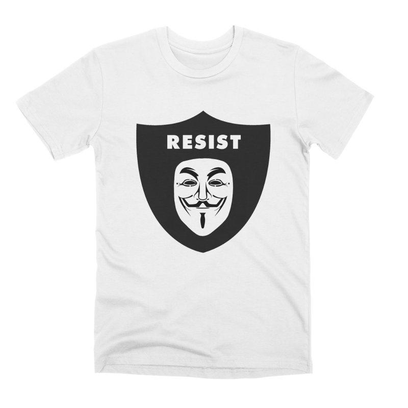 Resist Men's Premium T-Shirt by Mike Hampton's T-Shirt Shop