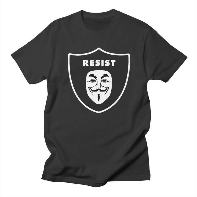 Resist Men's Regular T-Shirt by Mike Hampton's T-Shirt Shop