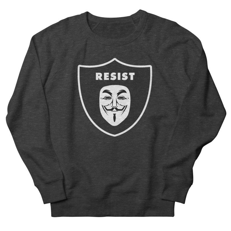 Resist Women's French Terry Sweatshirt by Mike Hampton's T-Shirt Shop