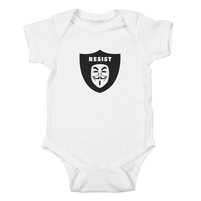 Resist Kids Baby Bodysuit by Mike Hampton's T-Shirt Shop