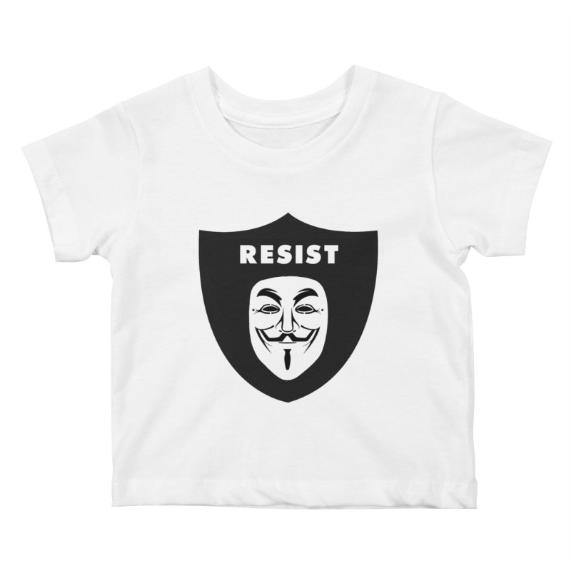 Resist Kids Baby T-Shirt by Mike Hampton's T-Shirt Shop