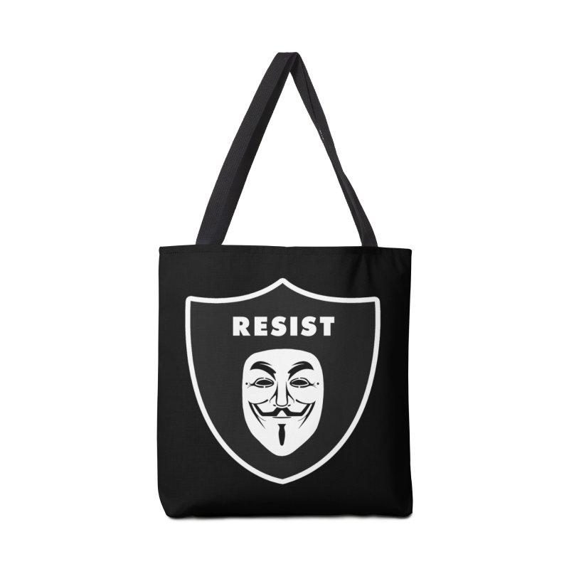 Resist Accessories Bag by Mike Hampton's T-Shirt Shop