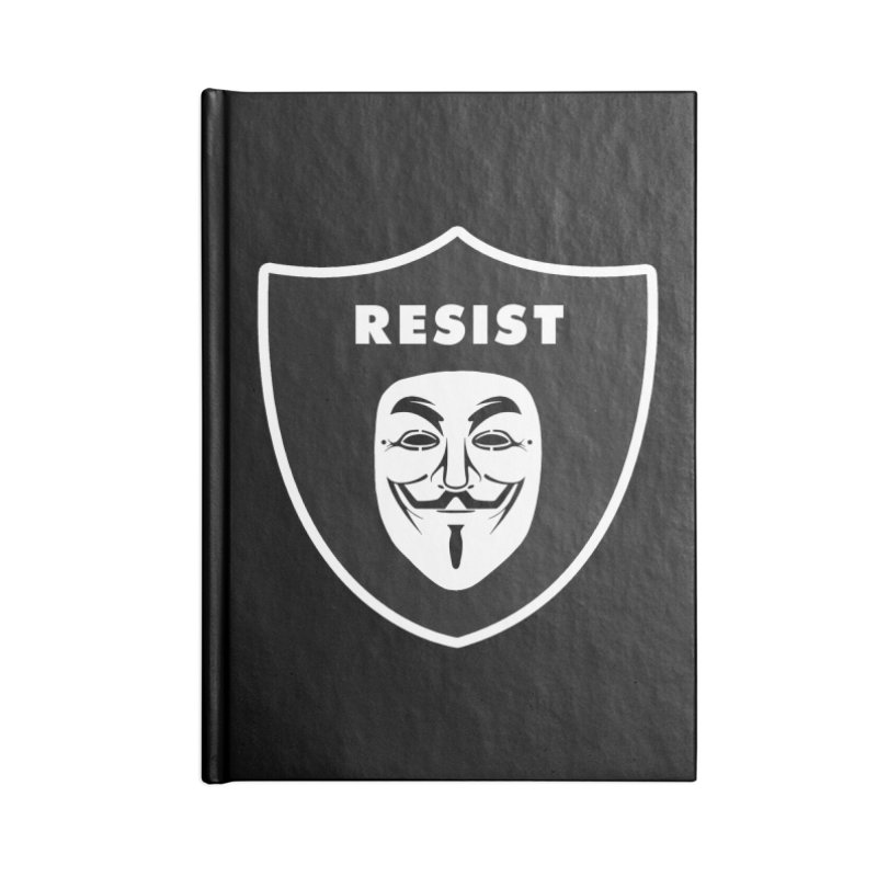 Resist Accessories Notebook by Mike Hampton's T-Shirt Shop
