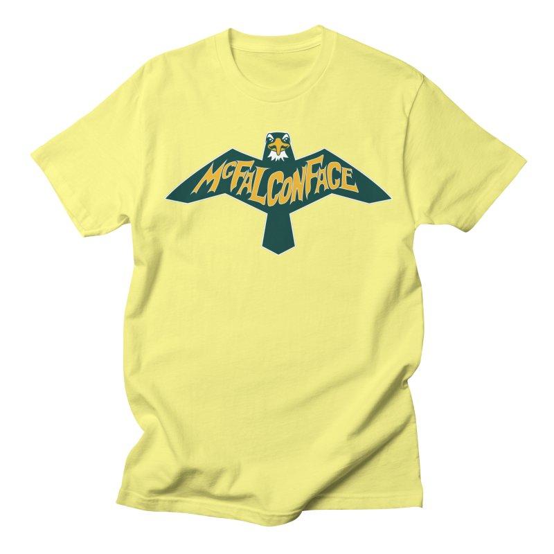 Falcon McFalconface Men's T-Shirt by Mike Hampton's T-Shirt Shop