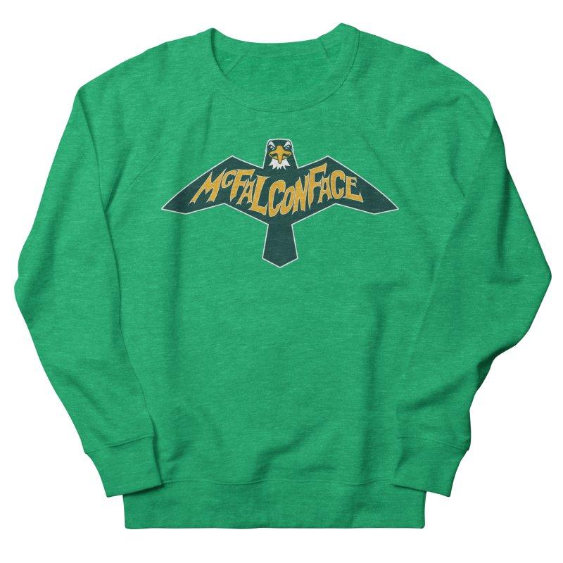 Falcon McFalconface Women's French Terry Sweatshirt by Mike Hampton's T-Shirt Shop
