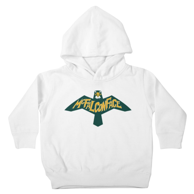 Falcon McFalconface Kids Toddler Pullover Hoody by Mike Hampton's T-Shirt Shop