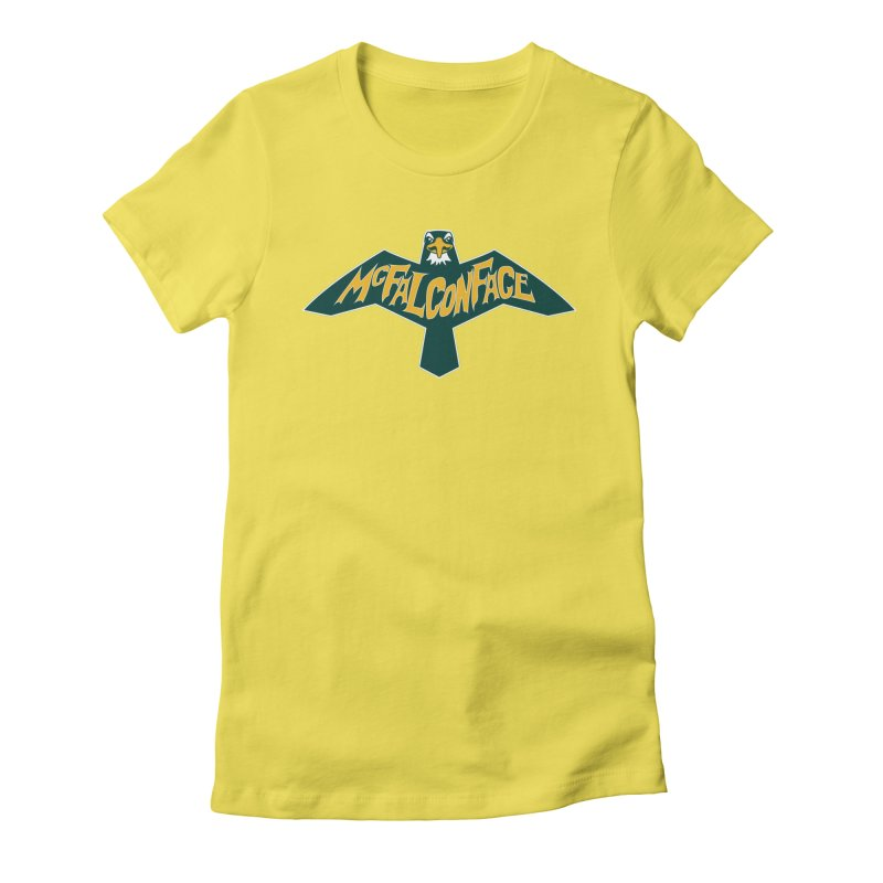 Falcon McFalconface Women's T-Shirt by Mike Hampton's T-Shirt Shop
