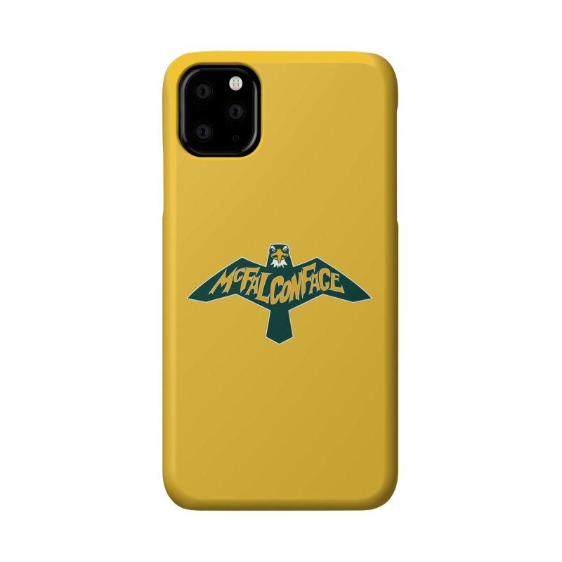 Falcon McFalconface Accessories Phone Case by Mike Hampton's T-Shirt Shop