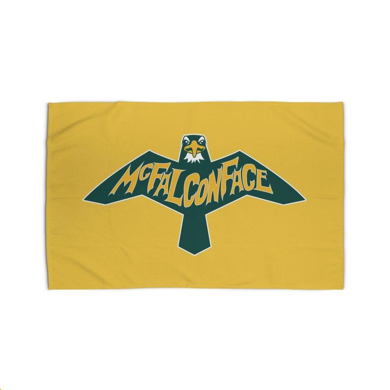 Falcon McFalconface Home Rug by Mike Hampton's T-Shirt Shop