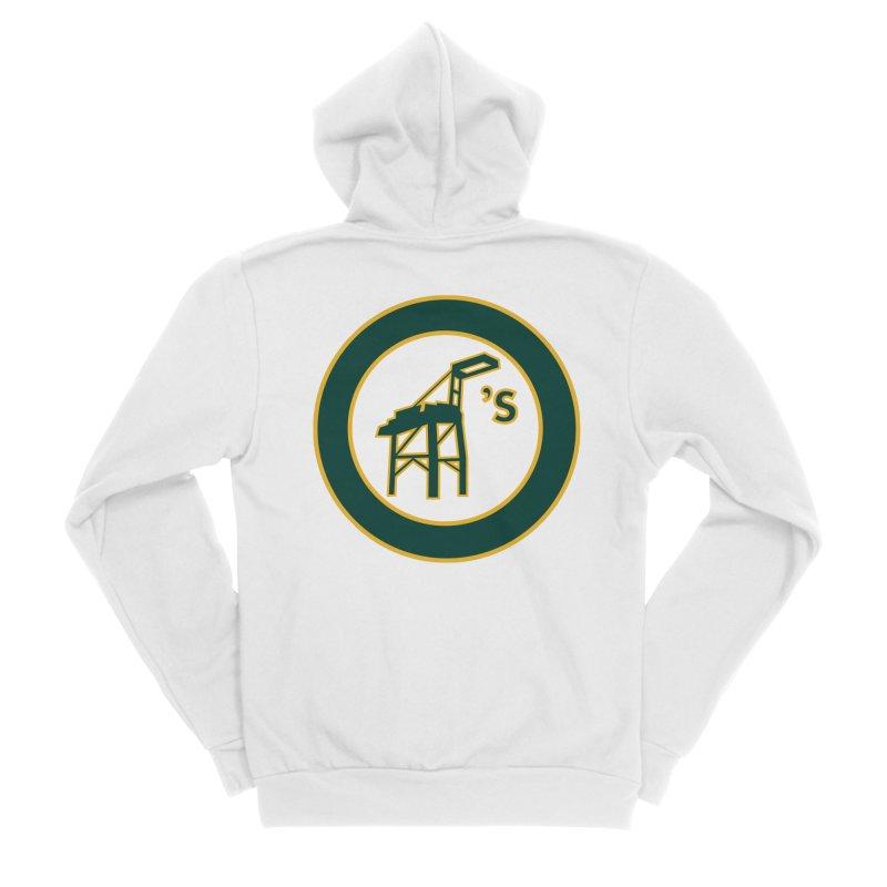 Oakland's Women's Zip-Up Hoody by Mike Hampton's T-Shirt Shop