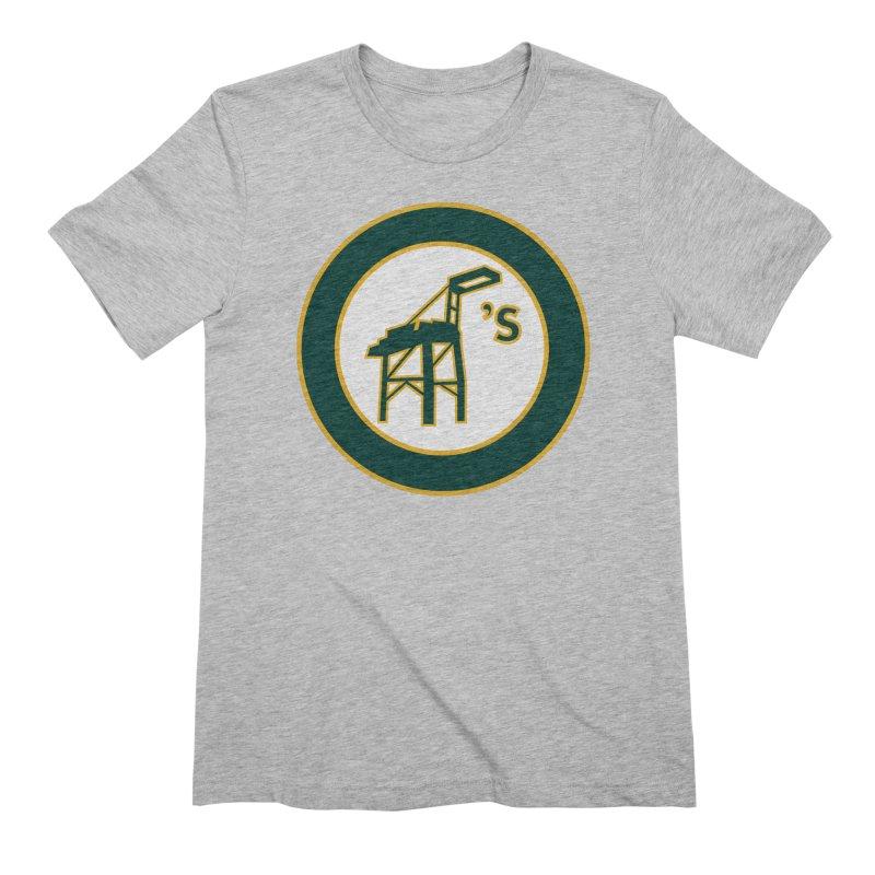 Oakland's Men's T-Shirt by Mike Hampton's T-Shirt Shop