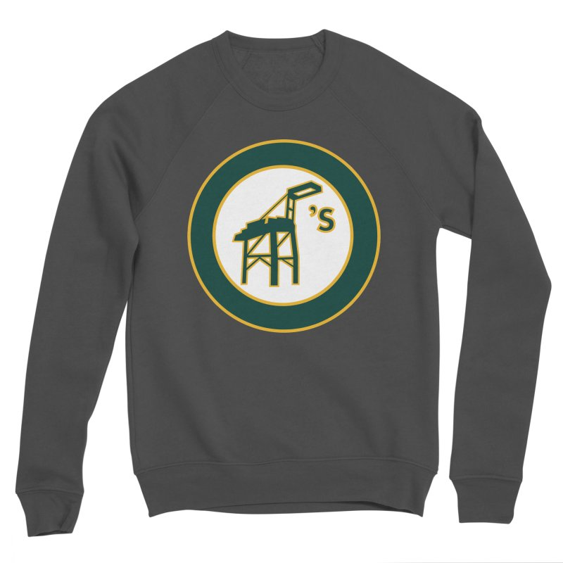Oakland's Women's Sponge Fleece Sweatshirt by Mike Hampton's T-Shirt Shop
