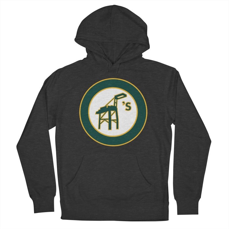 Oakland's Women's French Terry Pullover Hoody by Mike Hampton's T-Shirt Shop