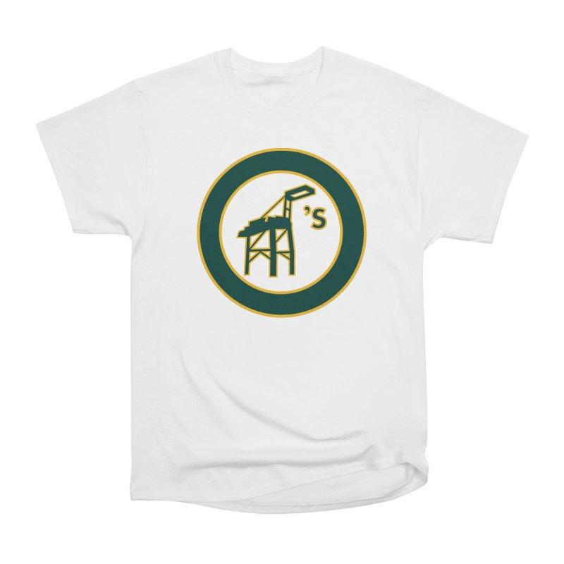 Oakland's Women's Heavyweight Unisex T-Shirt by Mike Hampton's T-Shirt Shop