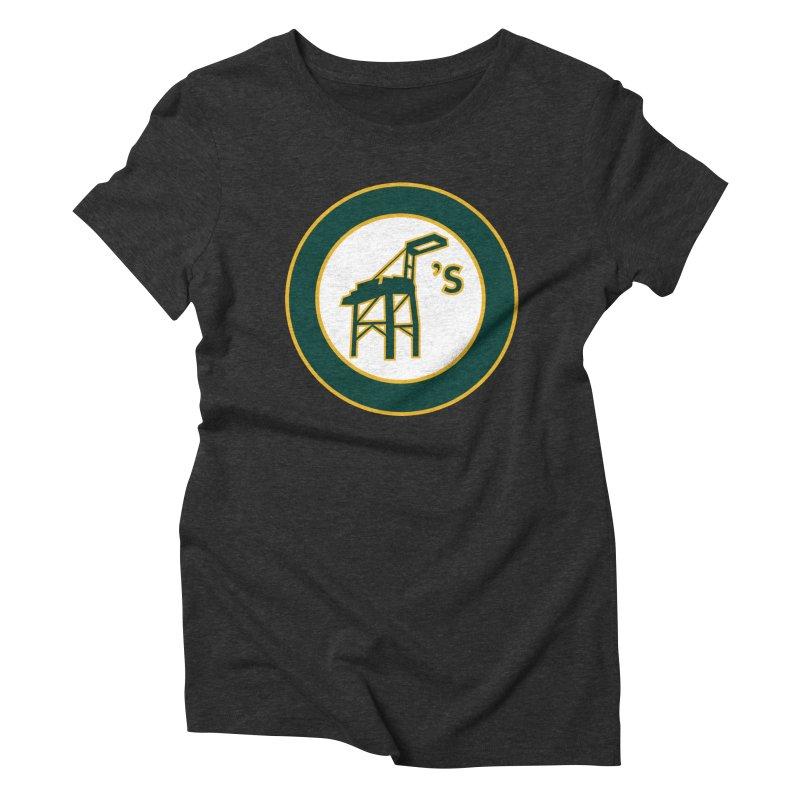 Oakland's Women's Triblend T-Shirt by Mike Hampton's T-Shirt Shop