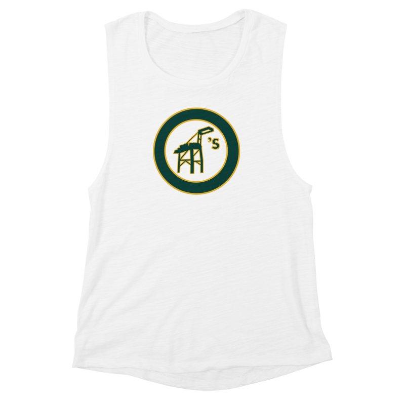 Oakland's Women's Muscle Tank by Mike Hampton's T-Shirt Shop