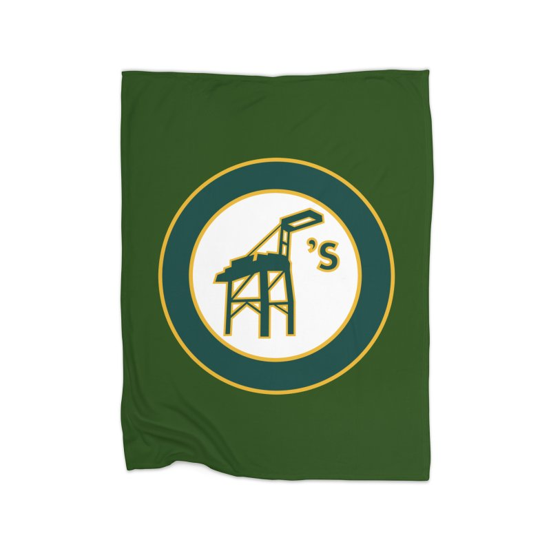 Oakland's Home Blanket by Mike Hampton's T-Shirt Shop