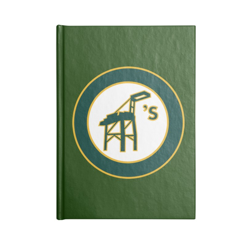 Oakland's Accessories Notebook by Mike Hampton's T-Shirt Shop