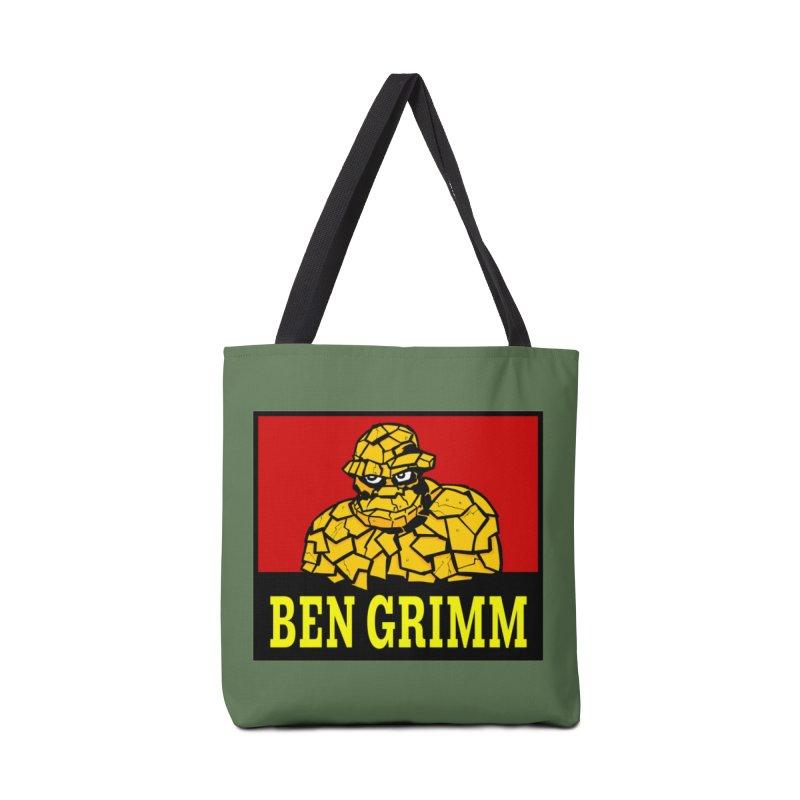 Plenty Tough Clobberin' Time Clothes Accessories Bag by Mike Hampton's T-Shirt Shop