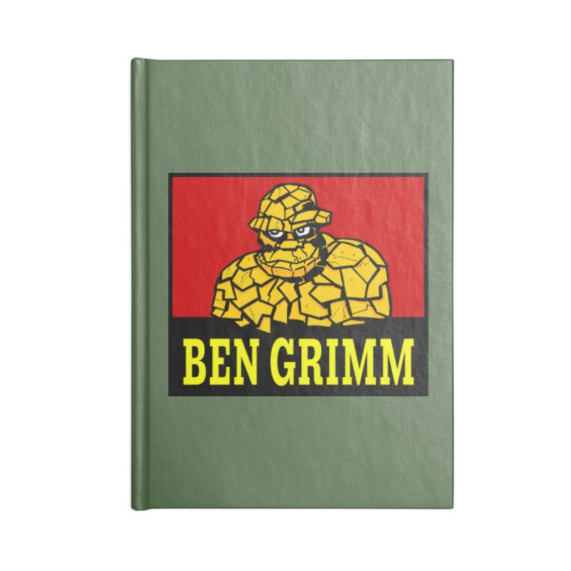 Plenty Tough Clobberin' Time Clothes Accessories Notebook by Mike Hampton's T-Shirt Shop