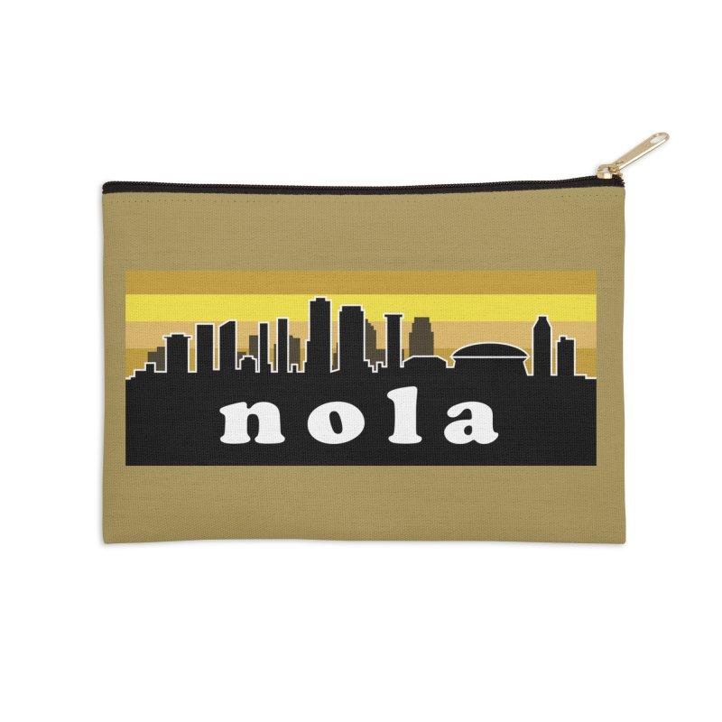 NoLa Accessories Zip Pouch by Mike Hampton's T-Shirt Shop