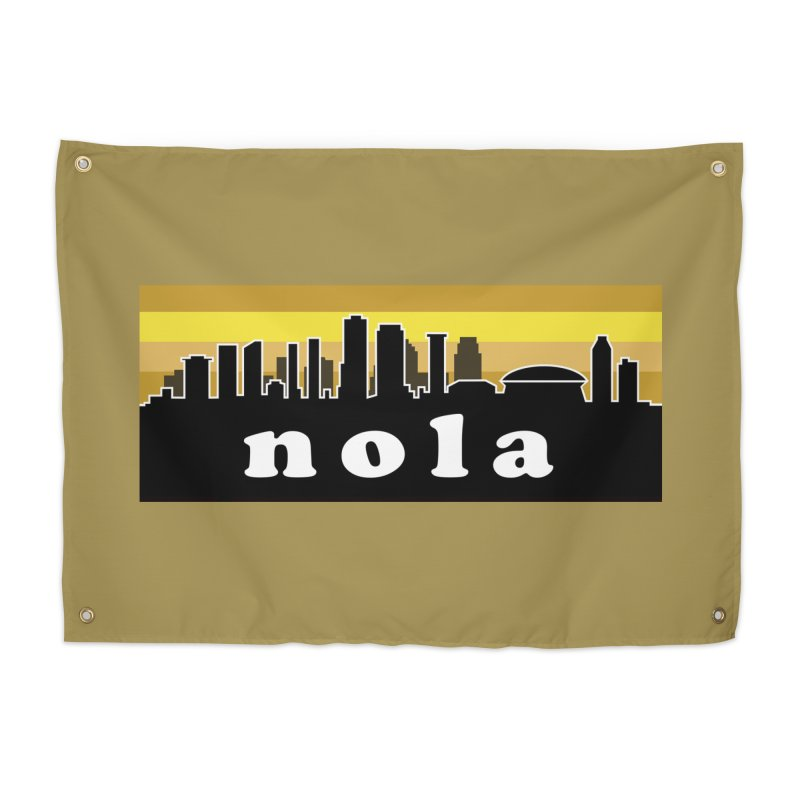 NoLa Home Tapestry by Mike Hampton's T-Shirt Shop
