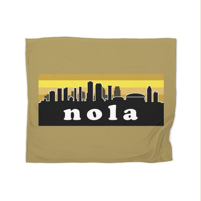 NoLa Home Blanket by Mike Hampton's T-Shirt Shop