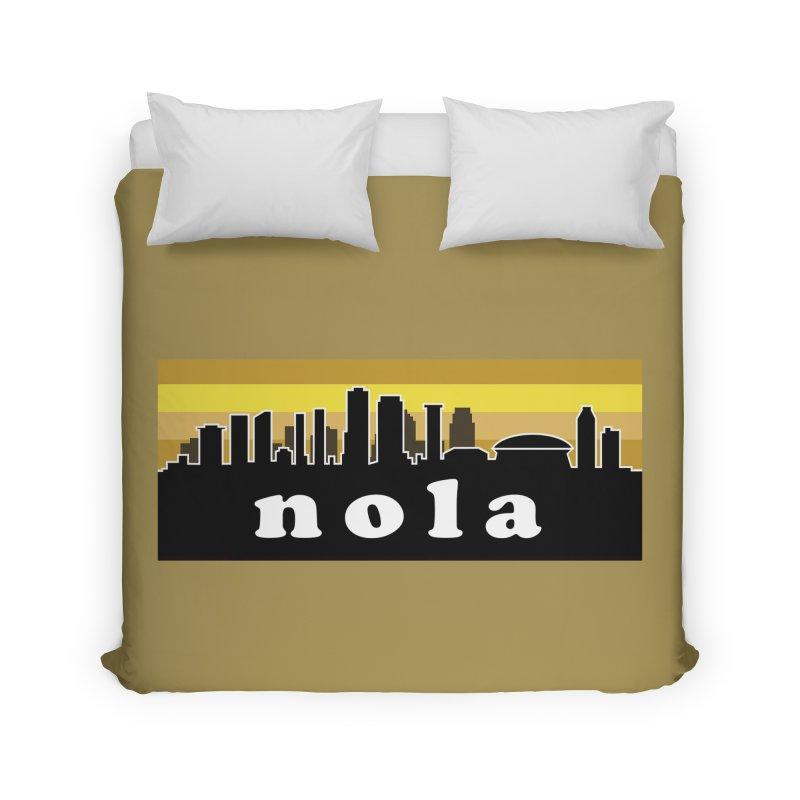 NoLa Home Duvet by Mike Hampton's T-Shirt Shop