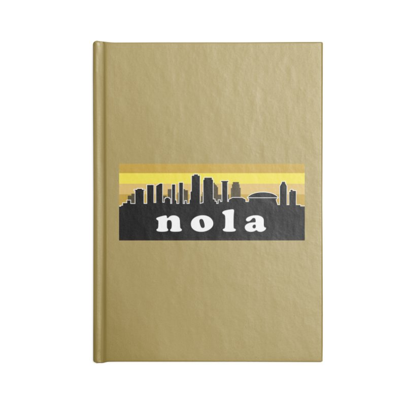 NoLa Accessories Notebook by Mike Hampton's T-Shirt Shop