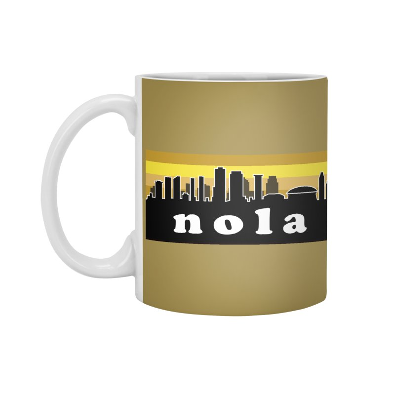 NoLa Accessories Mug by Mike Hampton's T-Shirt Shop