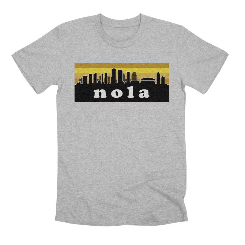 NoLa Men's Premium T-Shirt by Mike Hampton's T-Shirt Shop