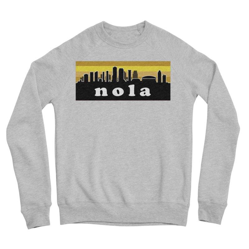 NoLa Women's Sponge Fleece Sweatshirt by Mike Hampton's T-Shirt Shop