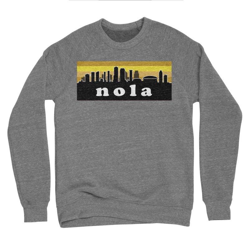 NoLa Men's Sponge Fleece Sweatshirt by Mike Hampton's T-Shirt Shop