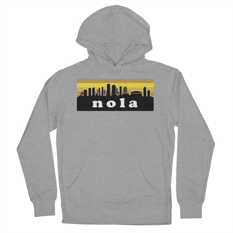 NoLa Women's French Terry Pullover Hoody by Mike Hampton's T-Shirt Shop