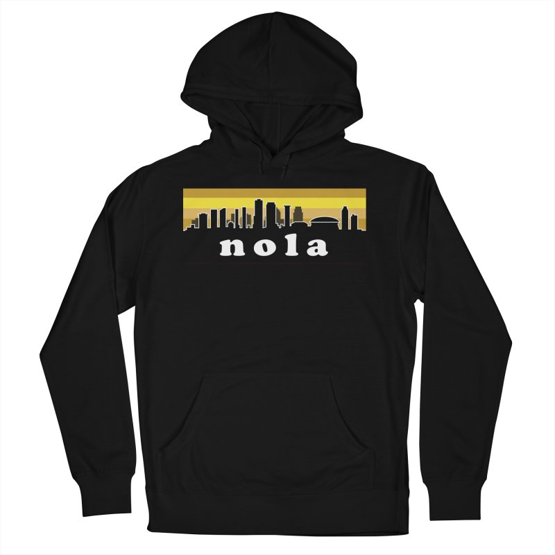 NoLa Men's French Terry Pullover Hoody by Mike Hampton's T-Shirt Shop