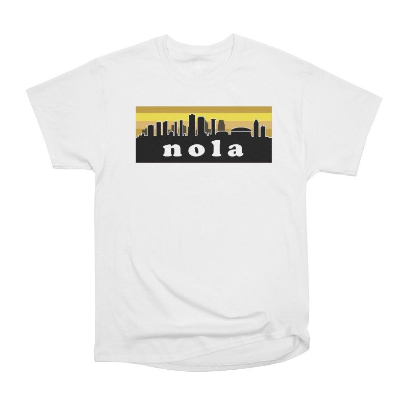 NoLa Men's Heavyweight T-Shirt by Mike Hampton's T-Shirt Shop