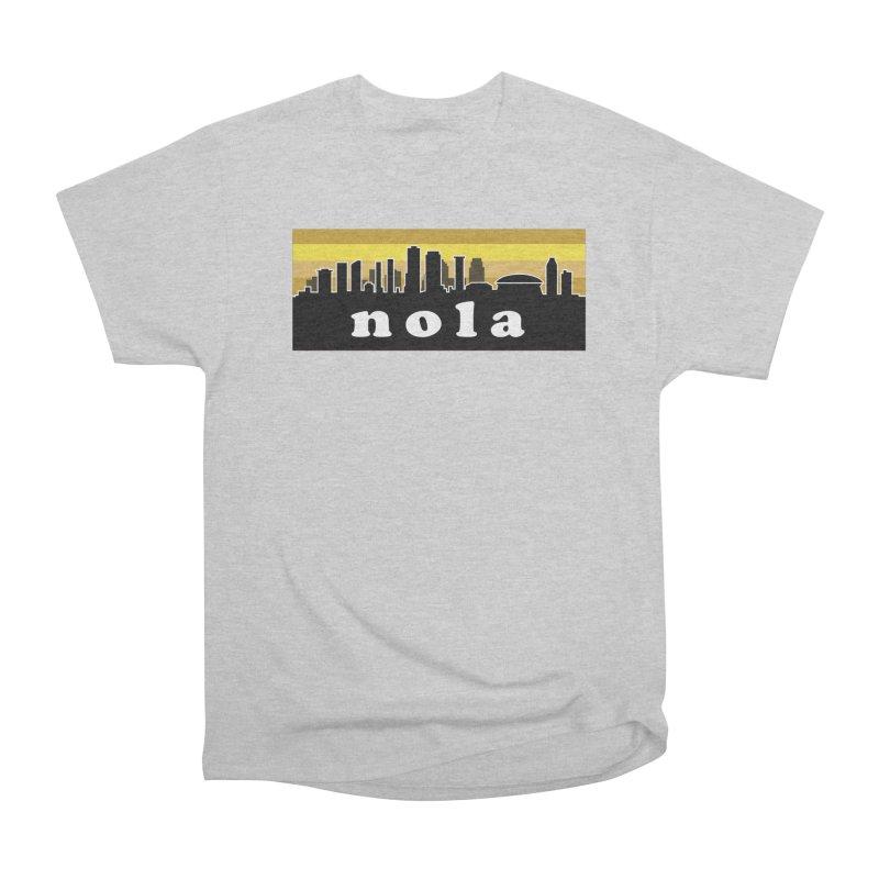 NoLa Women's Heavyweight Unisex T-Shirt by Mike Hampton's T-Shirt Shop
